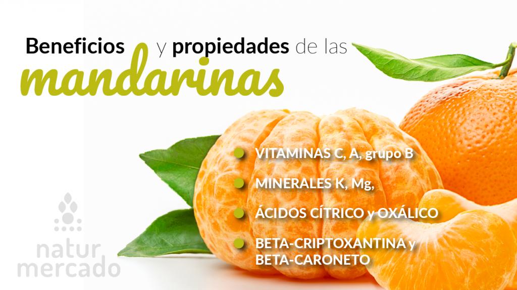 Beneficios y propiedades de las mandarinas