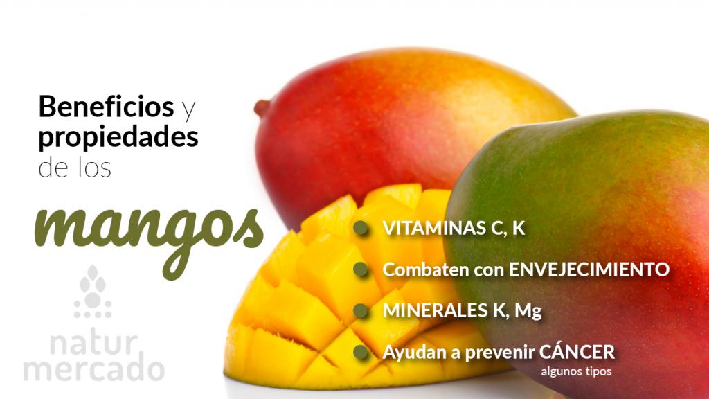Beneficios y propiedades de los mangos
