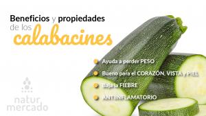 Beneficios y Propiedades de los Calabacines