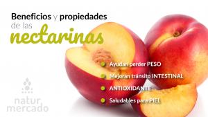 Beneficios y Propiedades de las nectarinas