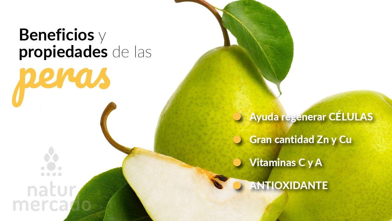Beneficios y Propiedades de las peras