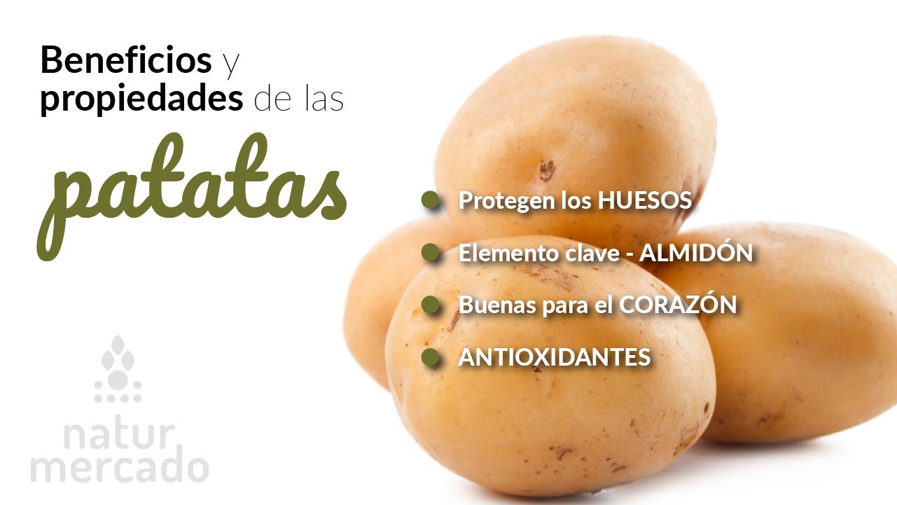 Beneficios y Propiedades de las patatas