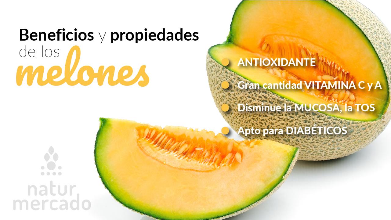 Beneficios y Propiedades de los Melones