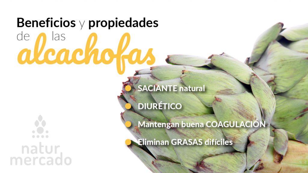 Beneficios y propiedades de las alcachofas