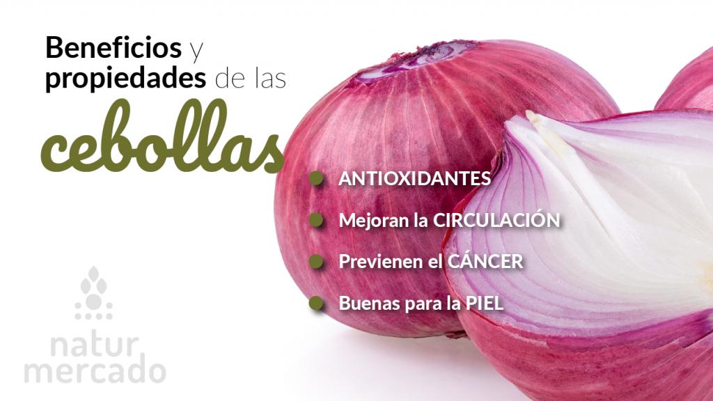 Beneficios y propiedades de las cebollas