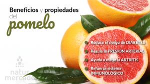 Beneficios y propiedades del pomelo