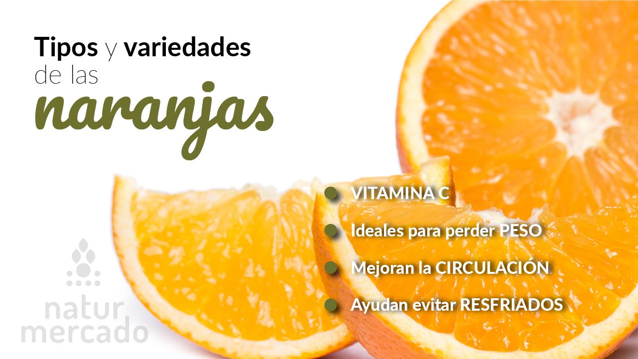 Beneficios y propiedades de las naranjas